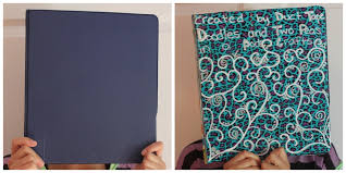 Back to School Decorate an Old Binder with Duct Tape