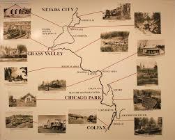 Nevada County Map Nevada County Narrow Gauge Railroad Museum Www Rgusrail Com