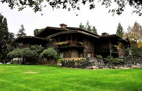 Mather House Floor Plan Blacker House Greene And Greene Pasadena California 1907