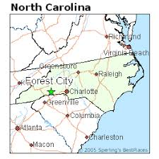best places to live in forest city carolina