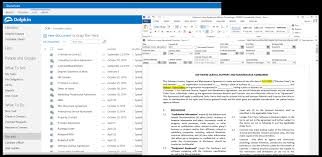 Contract Management Spreadsheet by Dolphin Contract Manager For Microsoft Sharepoint