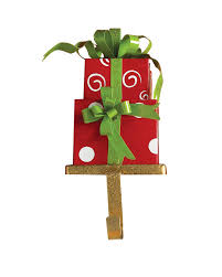decorating chic christmas stocking hanger in gift design for