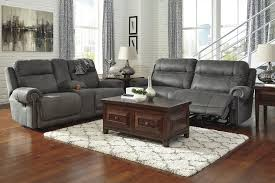 Microfiber Recliner Sofa austere contemporary gray color microfiber reclining sofa and