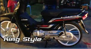 led honda dream 125 model 2014 super dream 2014 style youtube