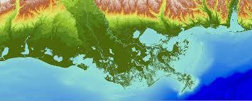 louisiana elevation map usgs coned program