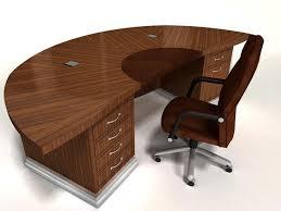 Curved Office Desk Curved Office Desk For Stylish Interior Design Best Garden