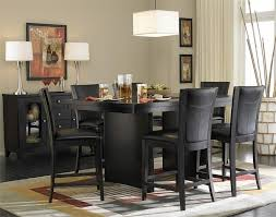 modern black dining room sets mesmerizing dining room decorations table sets in black of