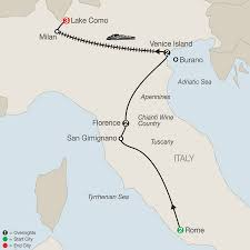 Map Of Italy With Cities by Italy Tours Globus Italy Vacation Packages