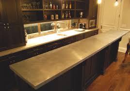 Zinc Kitchen Island - zinc countertops u2013 custom metal home