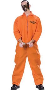prisoner costume bird convict prisoner costume party city
