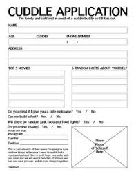 Cuddle Buddy Meme - cuddle buddy application forms feel goods for all ages
