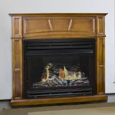 dual fuel vent free gas fireplace products pinterest gas