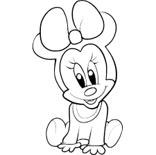 baby mickey coloring pages trendy mickey coloring picture with