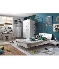 chambre ado moderne chambre ado moderne blanche et bois novomeuble