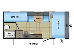 Jayco Jay Flight Floor Plans by 2018 Jayco Jay Flight Slx 174bh Golden Co Rvtrader Com