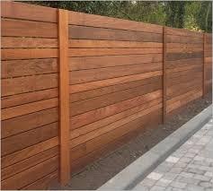 Backyard Fences Ideas Horizontal Wood Fence Panels The Best Option Best 25 Horizontal