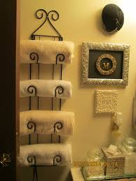 Decorate Bathroom Towels Millie U0027s Bathroom Towel Bar Book Shelf Holder U0026 Plate Hanger For
