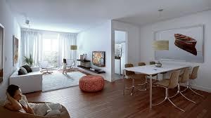 photo salon salle a manger rénovation déco salon salle à manger petit espace