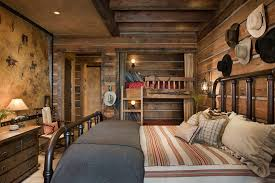 Cowboy Bunk Beds Cowboy Decorating Ideas Traditional With Pioneer Wagon Play