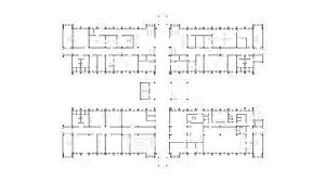 Brixton Academy Floor Plan by General Hospital Of Niger Citic Architectural Design Institute