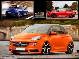 opel orange opel adam opc