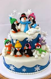 25 beautiful and creative christmas cake decoration ideas for you