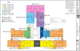 Housing Floor Plans by Floor Plans College Houses U0026 Academic Services