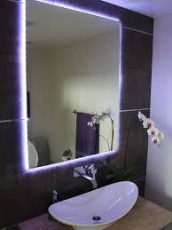bathroom lighting best bathroom mirror with light design bathroom