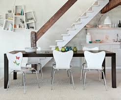White Plastic Dining Chairs by Diy Parson Dining Chairs