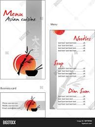 Designs Of Menu Card Template Designs Menu Business Vector U0026 Photo Bigstock