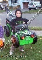 Digger Halloween Costume Coolest Homemade Monster Truck Costumes