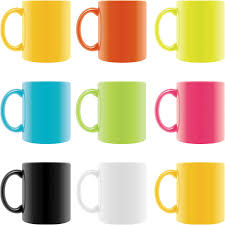 coffee cup templates vector free stock vector art