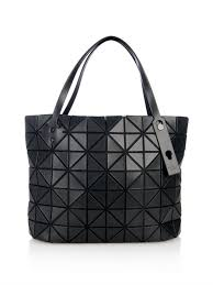 Tas Guess Speedy lyst bao bao issey miyake rock basic shopper tote in black