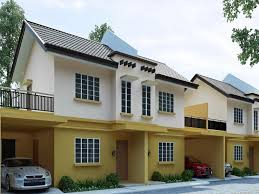 duplex house for sale duplex houses with garden in talisay cebu cebu city