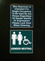 Gender Neutral Bathroom Signs - 17 of the most fabulous gender neutral bathroom signs u2013 glendale