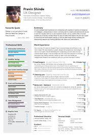 Expert Resume Samples by Colorful Ux Design Expert Resume Sample Vinodomia