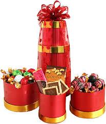 godiva christmas chocolate gift tower