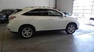 germain lexus dublin used cars 2012 lexus rx450h starfire pearl white stock 429156 walk