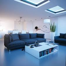 decorations living room skylights with natural light and
