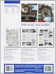 yamaha fjr1300 service and repair manual 2001 2013 haynes