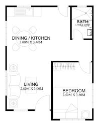 floor plan of a bungalow house free estimate of small bungalow house bahay ofw