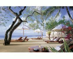 beaches beach pillows sunchairs towels paradise lounges umbrellas