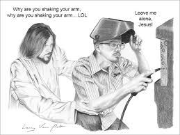 Lol Jesus Meme - jesus being a jerk fajnie byloby miec jezuska w ekipie pinterest