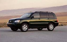 2001 toyota highlander information and photos zombiedrive
