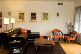 Decorate Living Room Black Leather Furniture Elegant Home Decorating Ideas On A Budget With Leather Sofa And