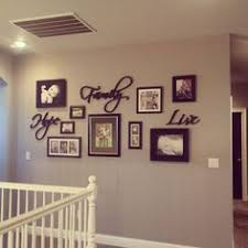 Picture Wall Decor Gallery Wall Greige Walls Black Doors Home Decor Living Room