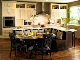 Kitchen Island Dimensions With Seating by Bathroom Amusing Kitchen Island Booth Seating Modern Home Design