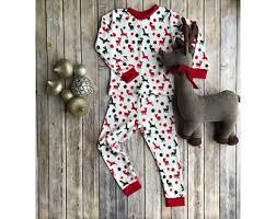 sibling pajamas etsy