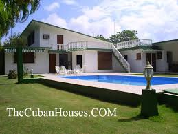 house with swimming pool in havana cuba four rooms for rent