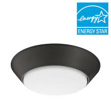 Motion Activated Indoor Ceiling Light Lithonia Lighting Versi Lite 9 3 Watt Textured Bronze Integrated